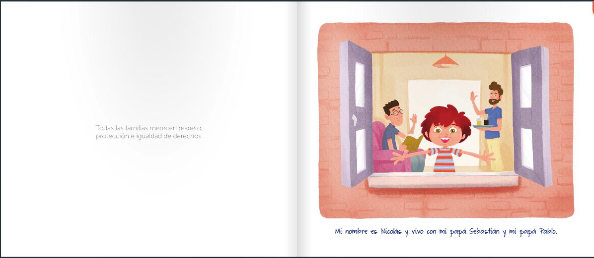 libro nicolas tiene 2 papas pagina 1 y 2