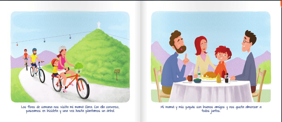 libro nicolas tiene 2 papas pagina 5 y 6