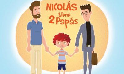 nicolas tiene 2 papas