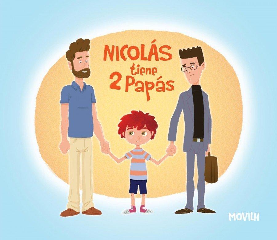 libro nicolas tiene 2 papas