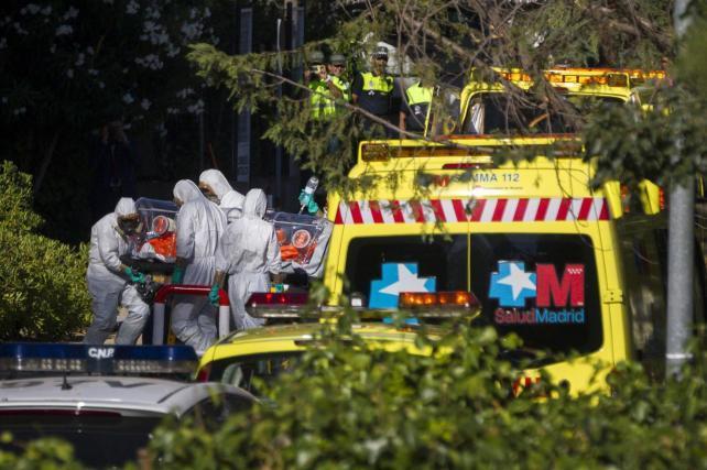 ebola en españa