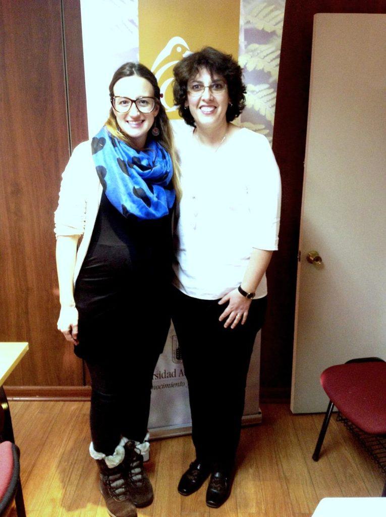Varinia Signorelli y Mónica Alacid
