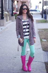 cute-pink-rain-boots