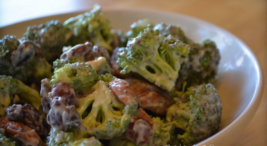 comer la placenta con brocoli