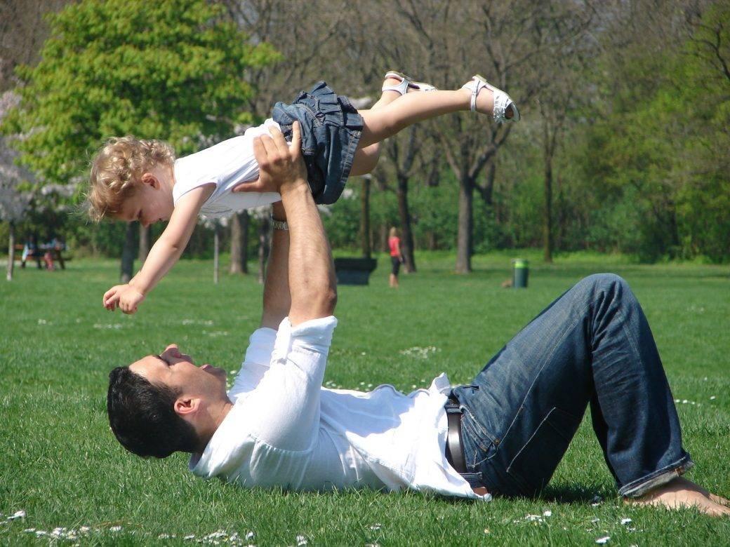 jugar con papá