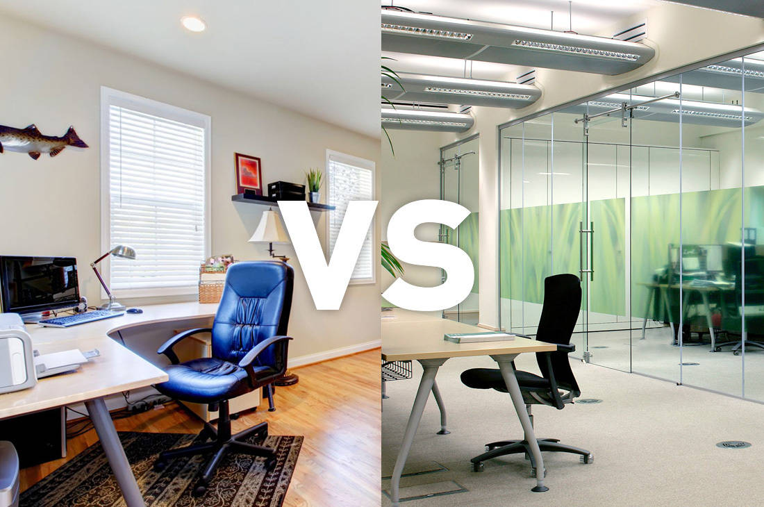 casa vs trabajo