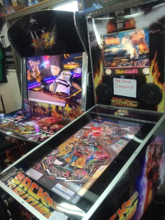 arcade y flipper