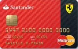 Santander Worldmember ferrari