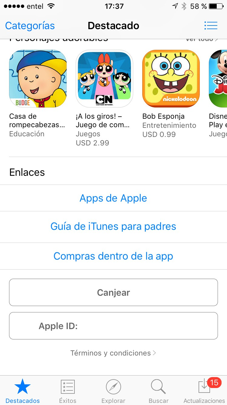 pokemon go en itunes store