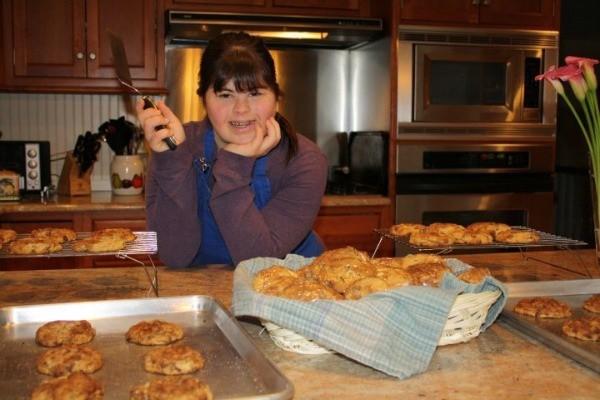 Divitto es una pastelera con Sindrome de Down