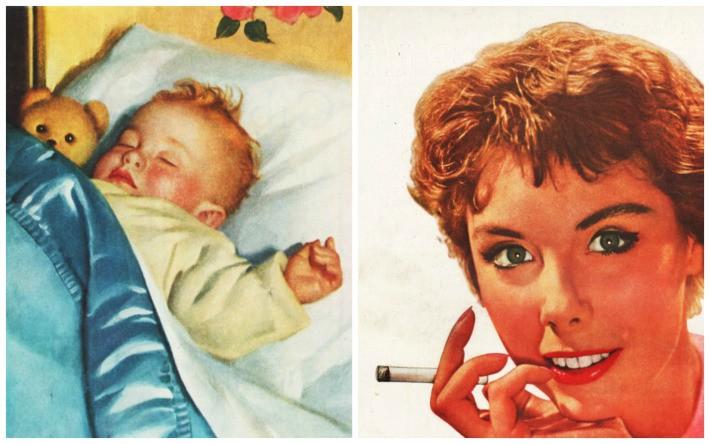 mama fumadora