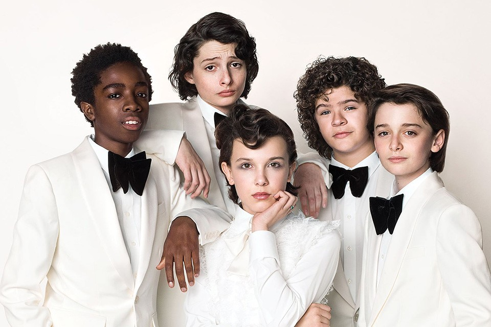 personajes de stranger things 2