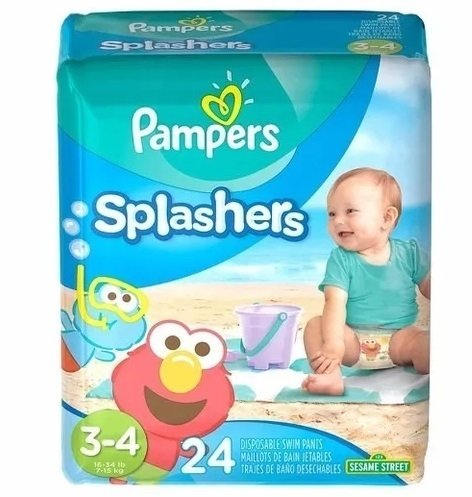pampers splashers - pañales de agua pampers