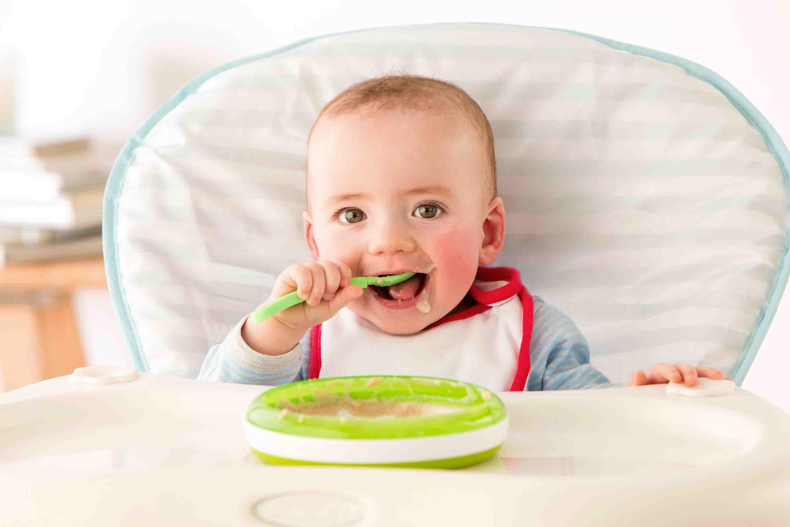 comida para bebé de 6 meses